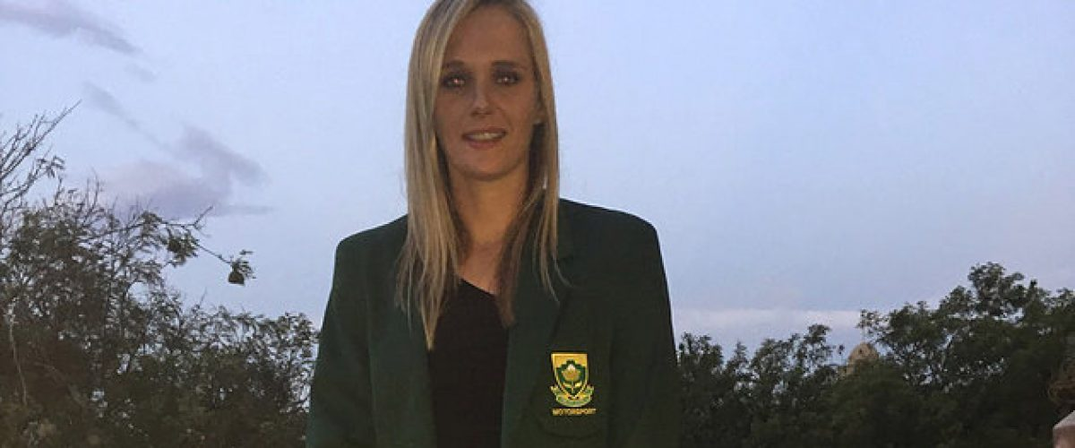 Kirsten Receives South African Springbok Colors for Motorsport