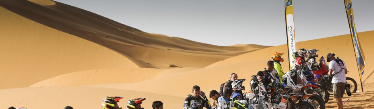 Merzouga Rally Race Movements